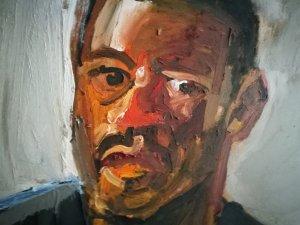 Michał Moląg, portret. Olej 2013