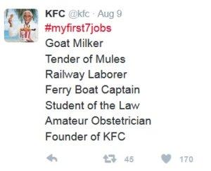 Źródło: Twitter/KFC