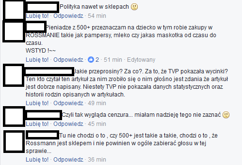 fot. print screen Facebook/Rossmann Polska