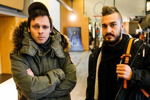 Maciej Braksal i Aleksander Piątek/ fot. Facebook/ Klub Twórców Reklamy