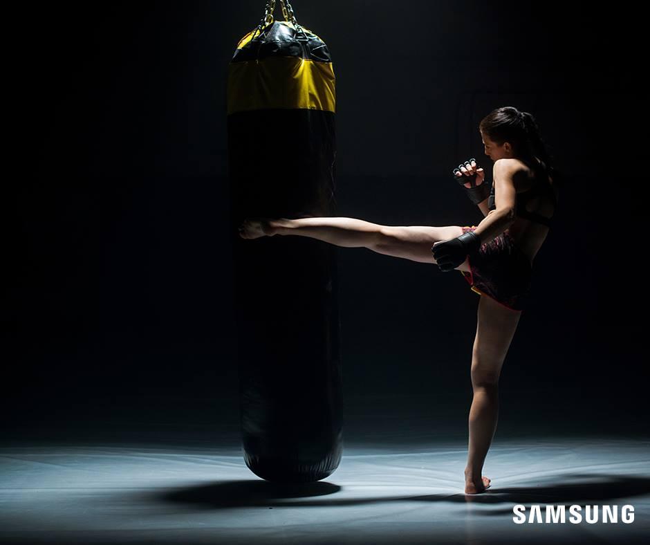 Joanna Jędrzejczyk, fot. fb.com/SamsungPolska