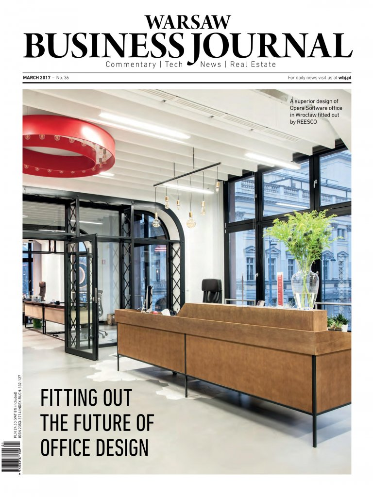 Warsaw Business Journal_cover_March 2017