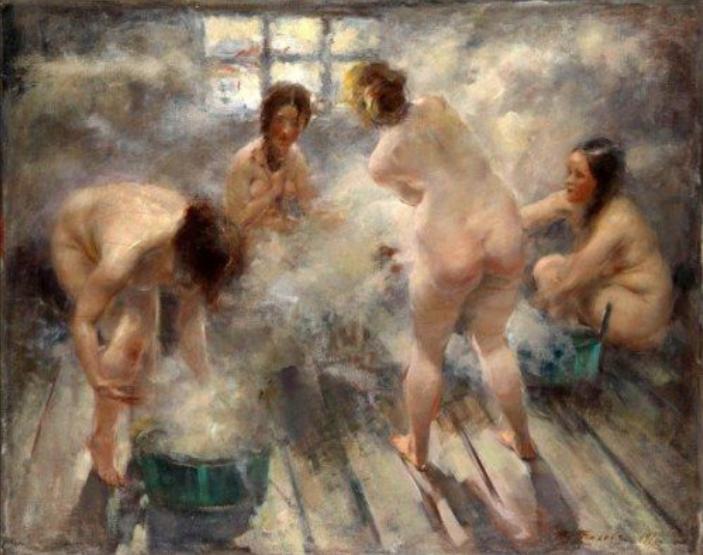 Witalij Tichow, Ruska bania, 1916
