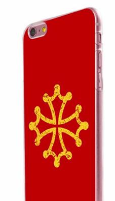 krzyż oksytański etui iPhone