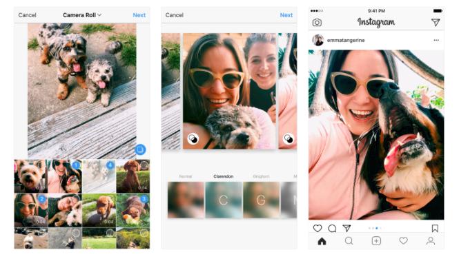 format zdjęć instagram