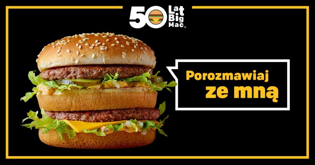 McDonald's Polska świętuje pięćdziesięciolecie Big Maca®