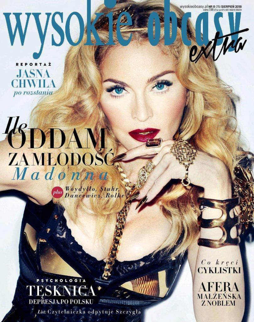 """Sierpniowe """"Wysokie Obcasy Extra"""" z Madonną na okładce oraz audiobookiem """"Moja najdroższa"""""""